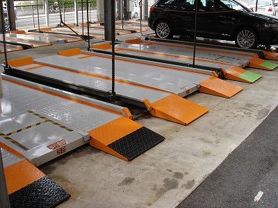 立体駐車場のパレット